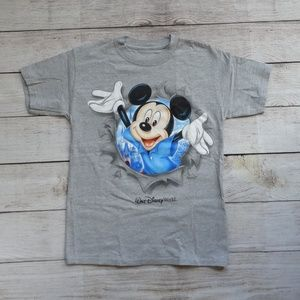 DISNEY Parks Mickey Mouse Youth T-Shirt Sz. M